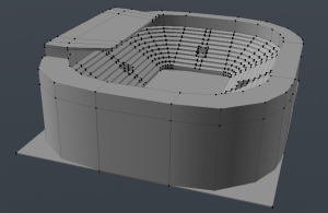 Adding roof structure