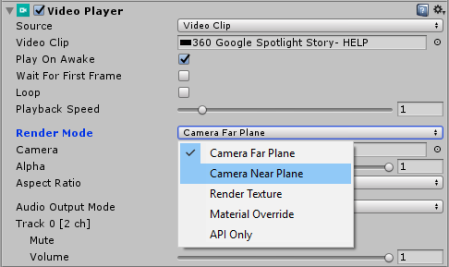 Unity's New Video Playback Component: | CreativeChris