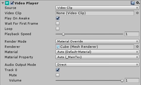 Unity's New Video Playback Component:   CreativeChris